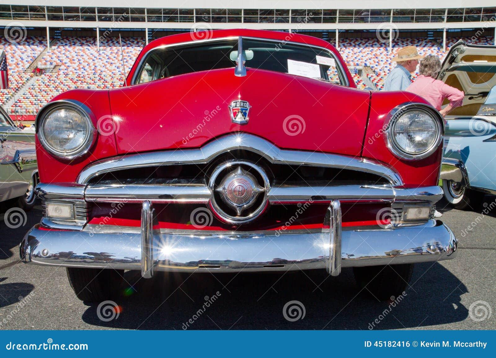 Classic 1950 Ford Automobile