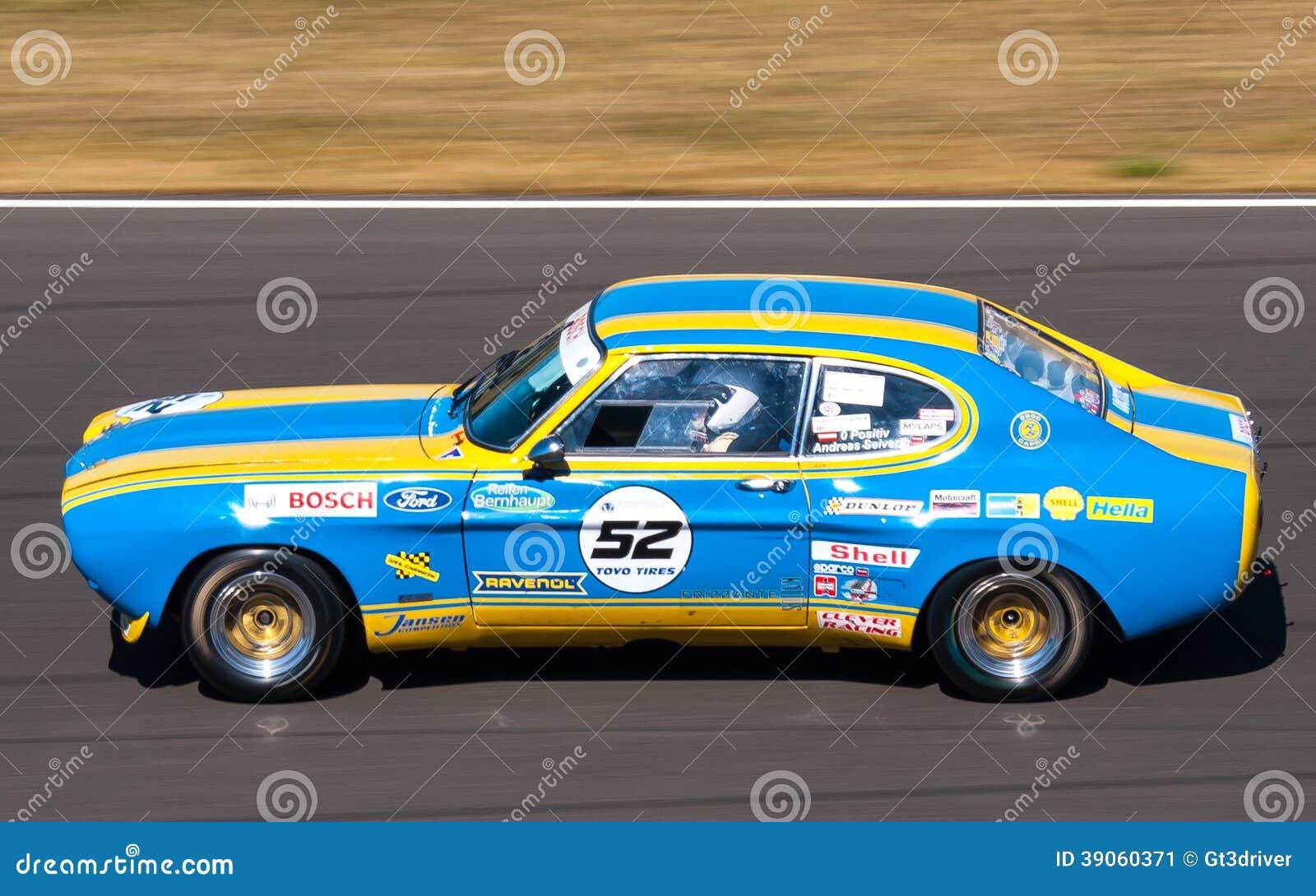 capri car classic ford histocup race ... & Classic Ford Capri Race Car Editorial Photo - Image: 39060371 markmcfarlin.com