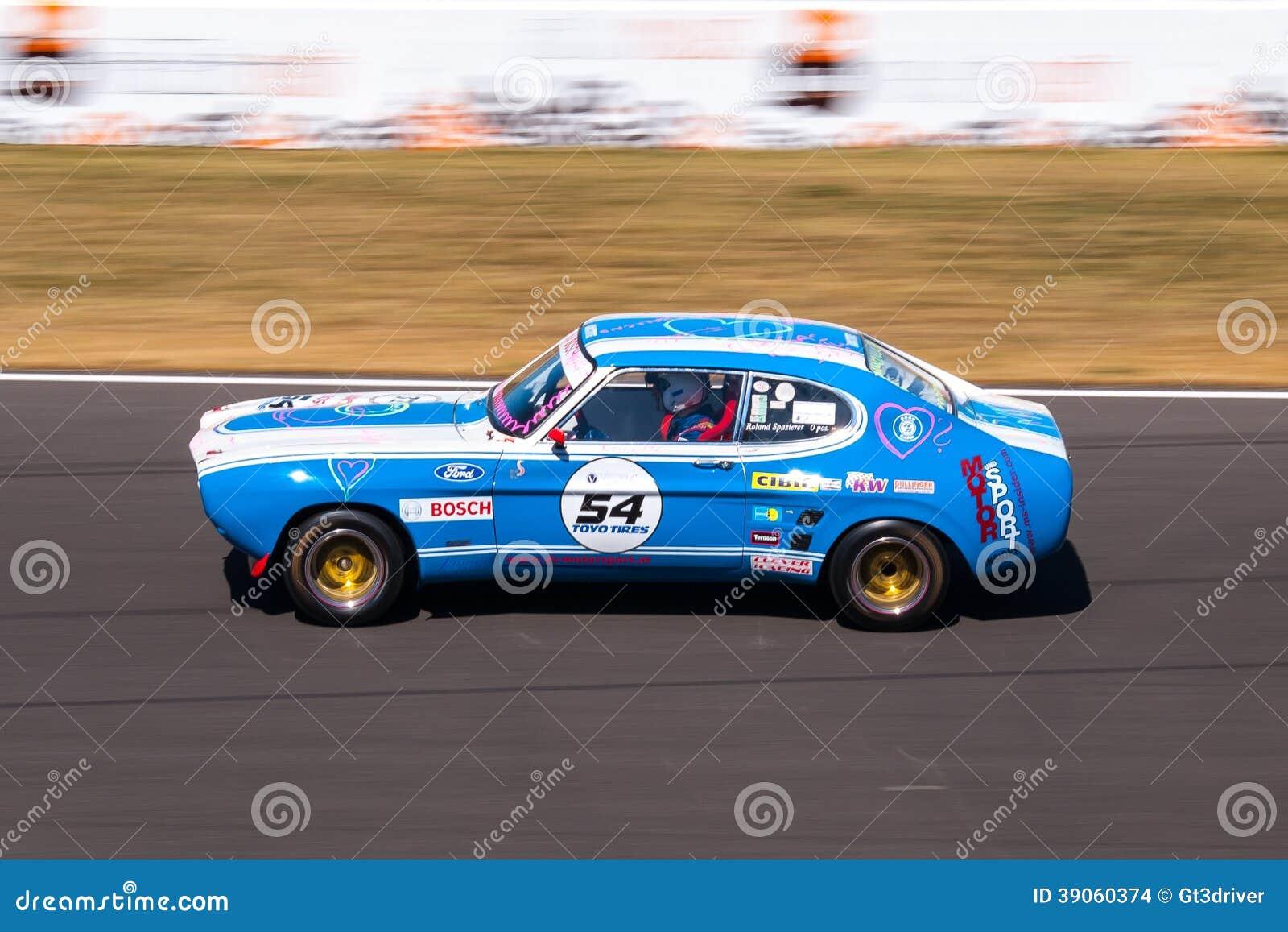 capri car classic ford histocup race ... & Classic Ford Capri Race Car Editorial Stock Image - Image: 39060374 markmcfarlin.com