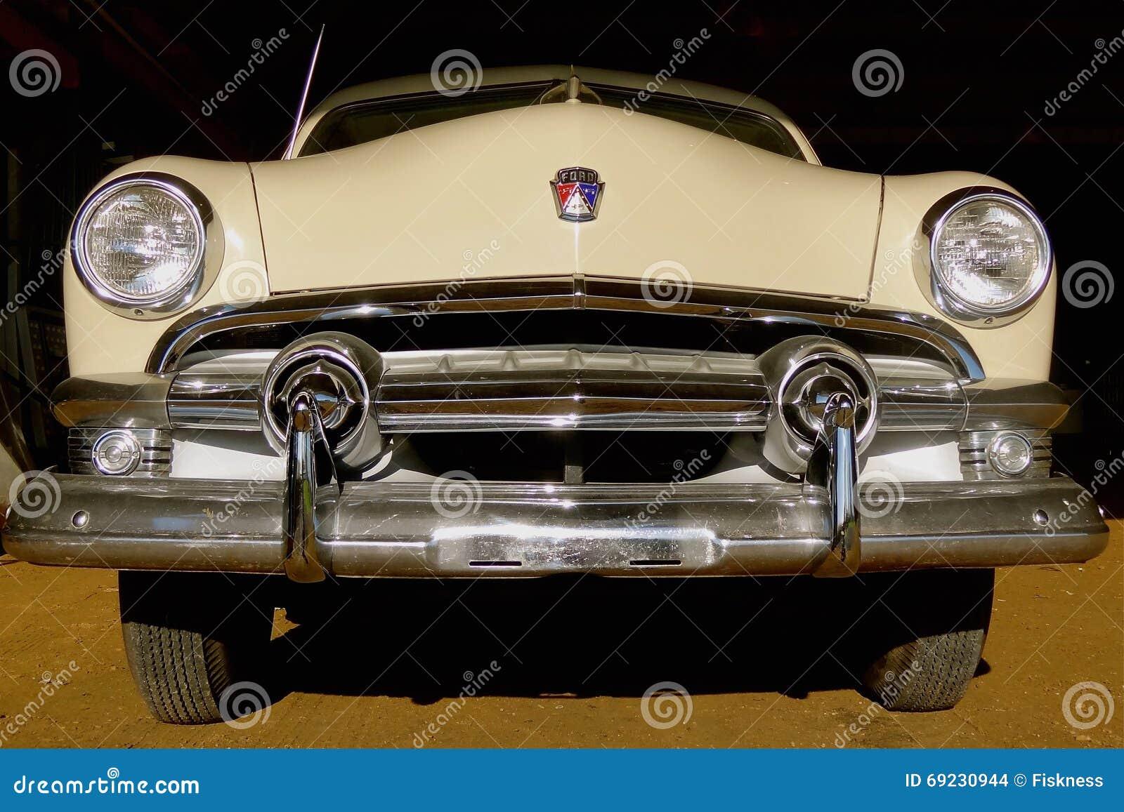 Classic 1950 Ford car