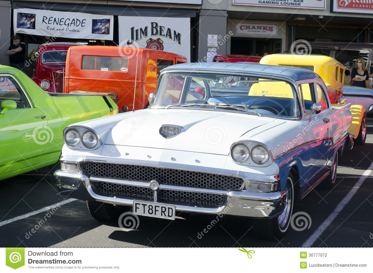 Classic Ford In A Car Show Editorial Photography Image Of - Ford classic cars