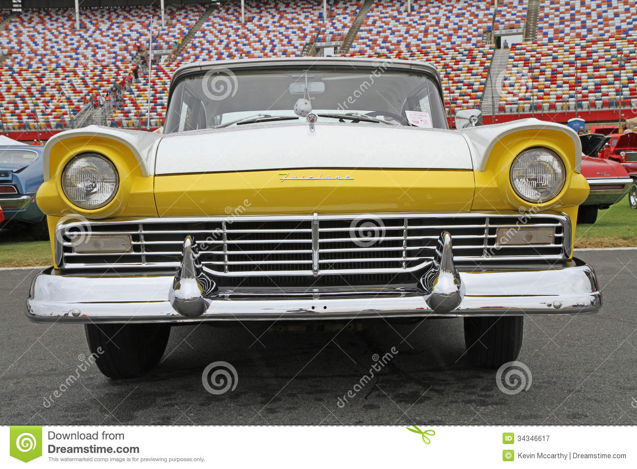 Classic ford fairlane automobile editorial photography for Speedway motors used cars