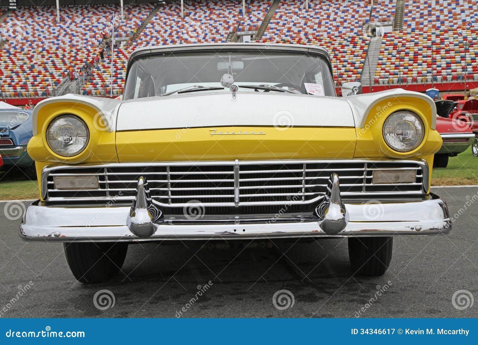 1957 auto automobile car classic fairlane ford ... & Classic Ford Fairlane Automobile Editorial Photography - Image ... markmcfarlin.com