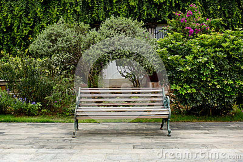Astounding Classic Garden Bench Stock Image Image Of Interior Copy Ibusinesslaw Wood Chair Design Ideas Ibusinesslaworg