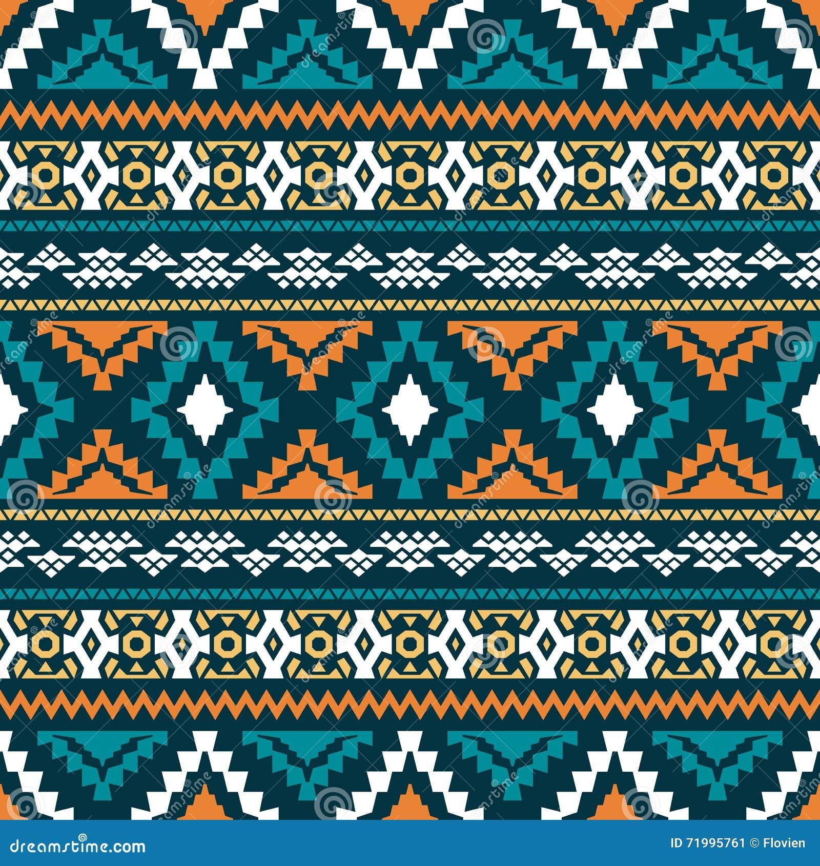 Tribal Print Pattern Blue | www.pixshark.com - Images ...