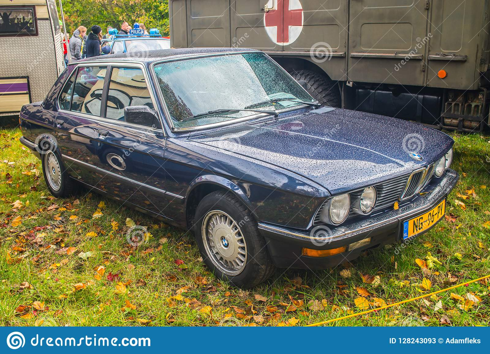 Classic German Car Bmw Limousine Editorial Stock Photo Image Of Cooled Cars 128243093