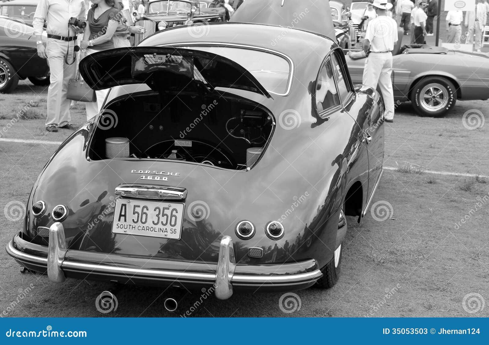 Classic German Sports Car Rear End Editorial Stock Photo