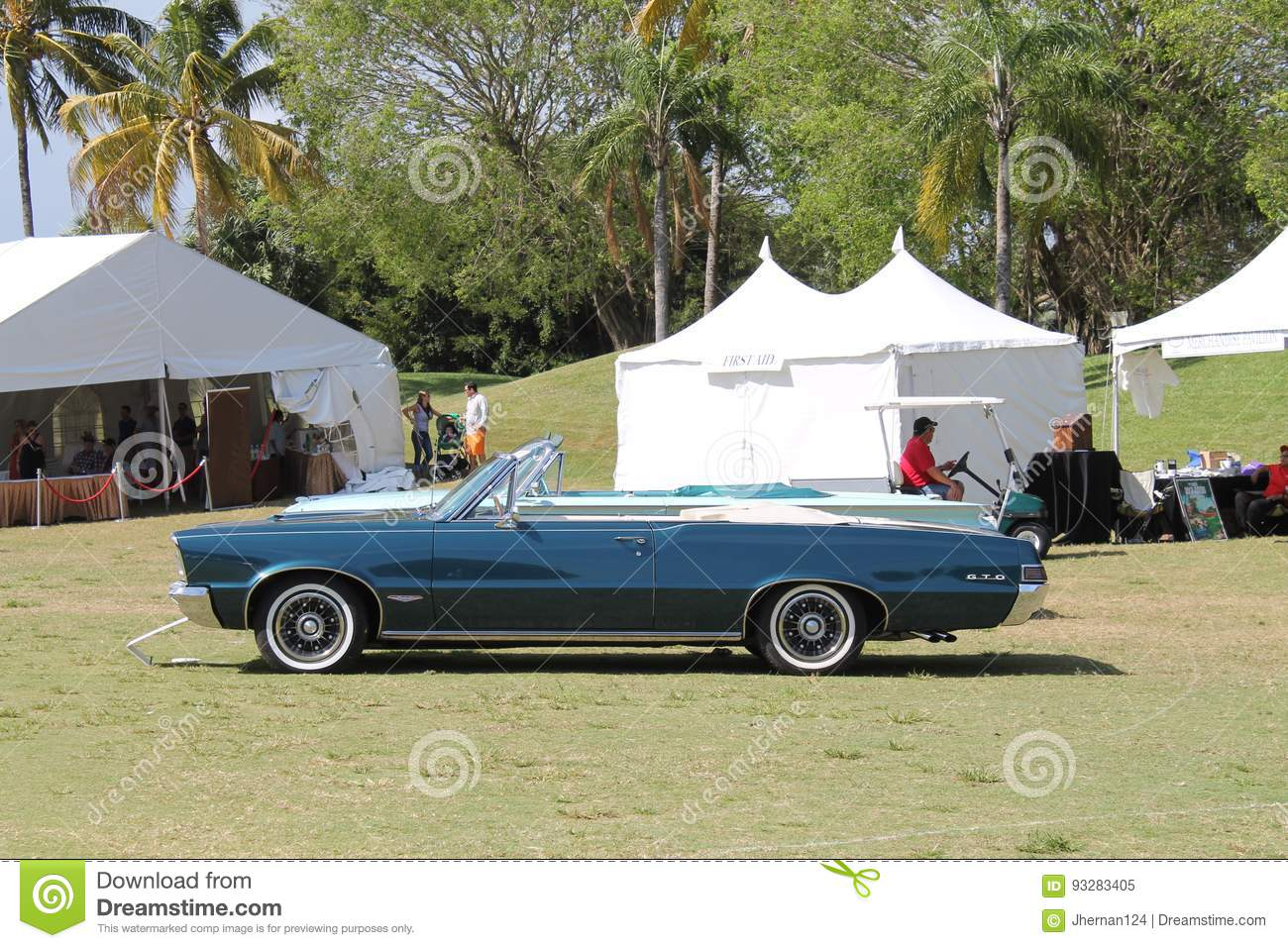 Classic GTO At Car Show Editorial Image Image Of Area - Boca raton car show