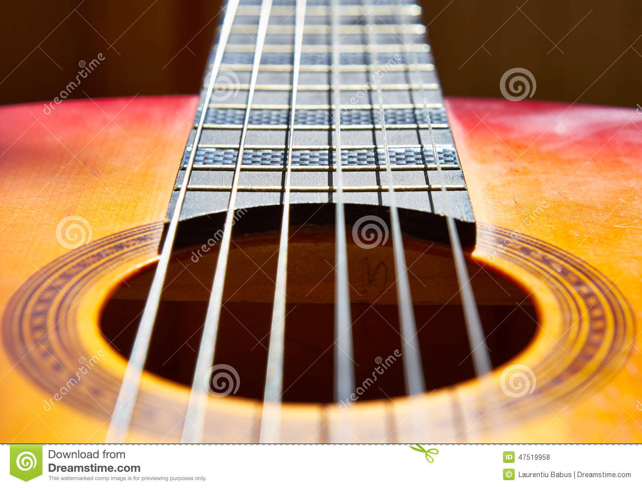 classic guitar stock photo image 47519958