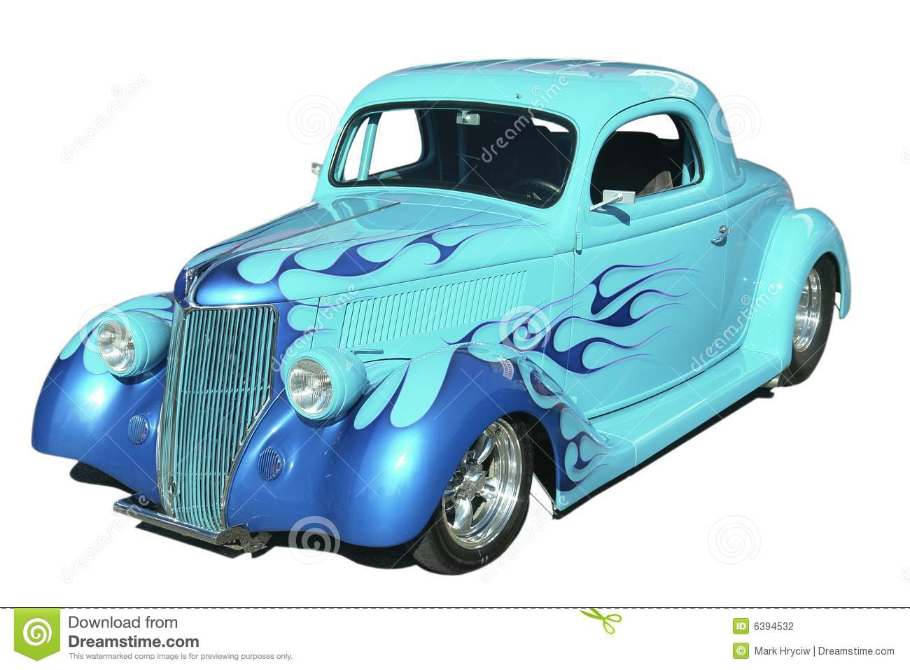 Download Classic Hot Rod Automobile stock photo. Image of vehicle - 6394532