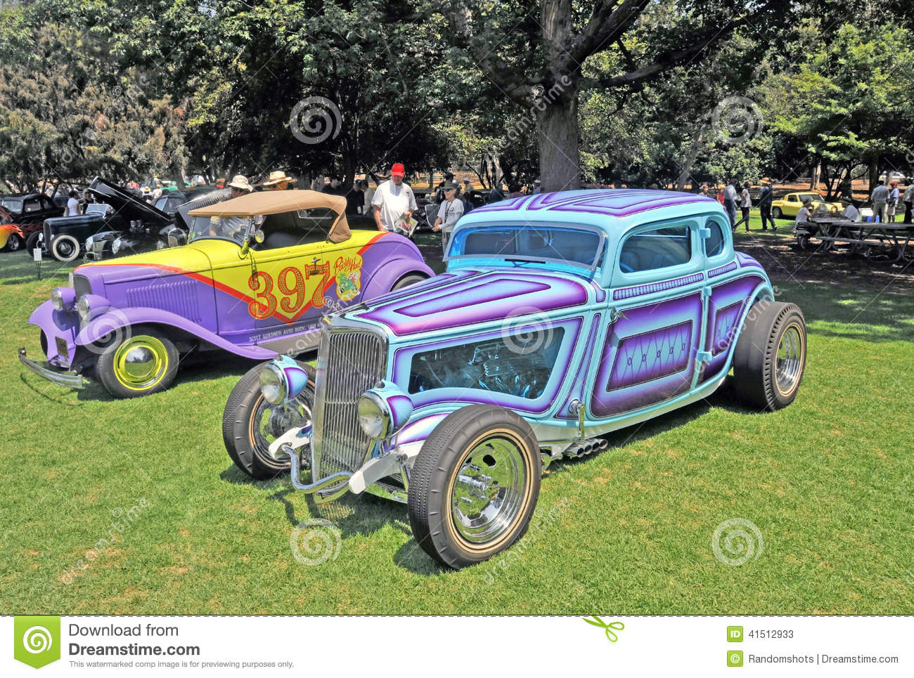 Classic Hot Rods editorial stock photo. Image of nostalgia - 41512933