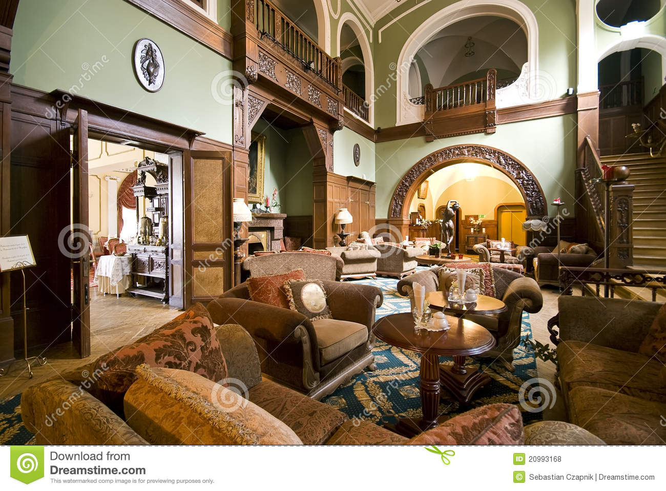 Hotel lobby furniture - Royalty Free Stock Photo Download Classic Hotel Lobby