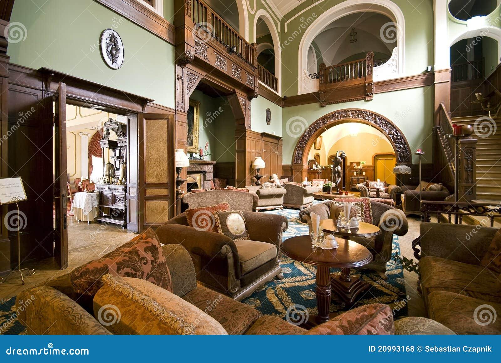 classic hotel lobby royalty free stock photos   image