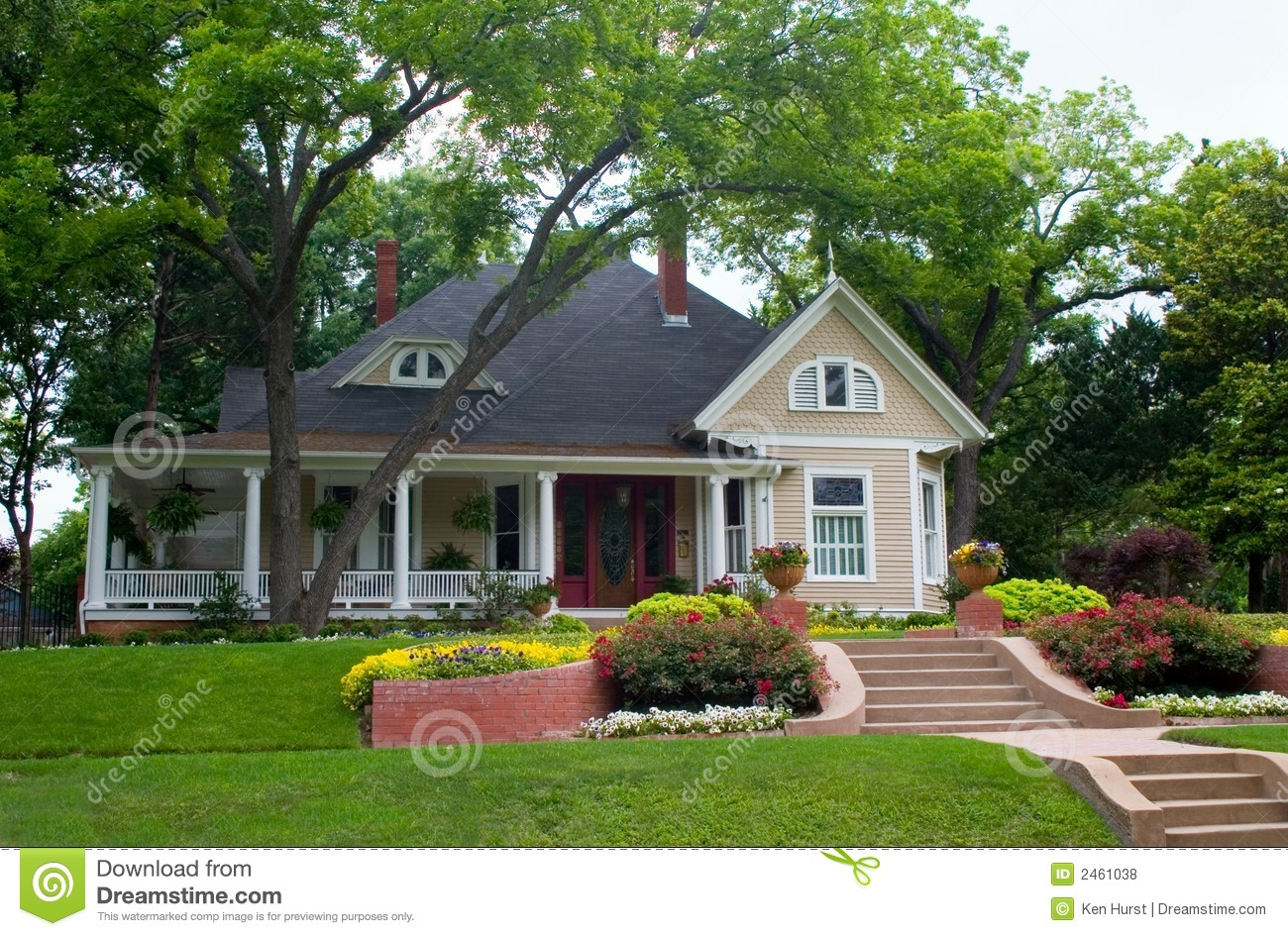 Classic house 2 stock photo image of estate city for Classic home builders