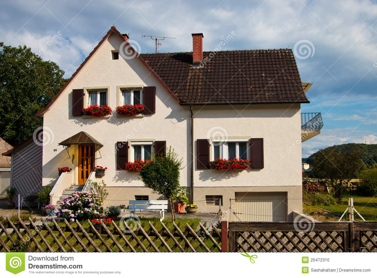 Classic house stock photo image 20472310 for Classic underground house