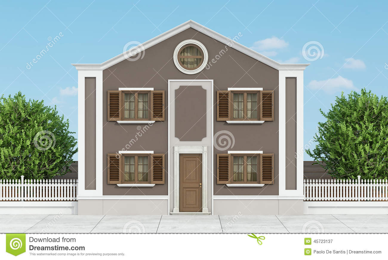 Classic house stock illustration image 45723137 for Classic house green street