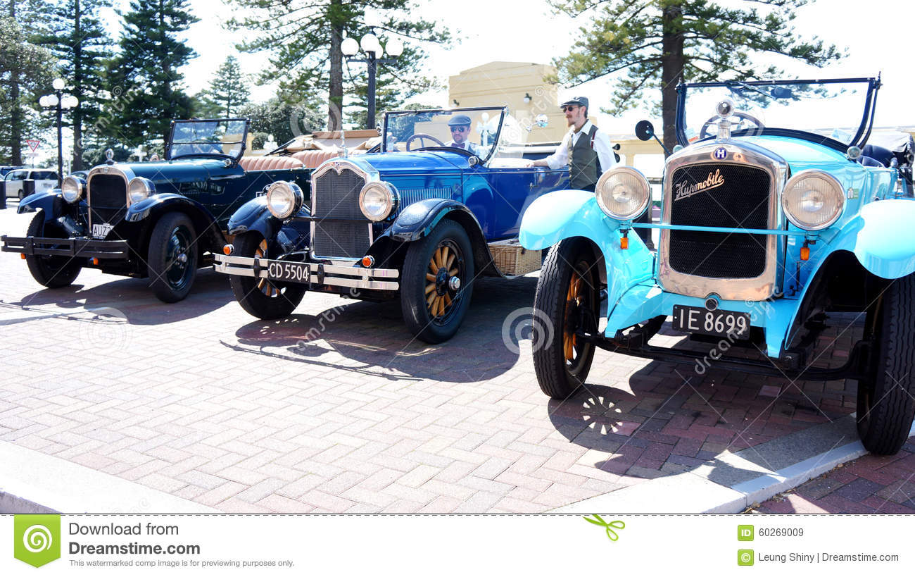 Classic Hupmobile Cars At Napier, Hawkes Bay In New Zealand ...