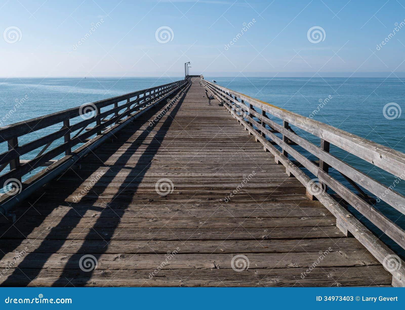 Classic inviting pier