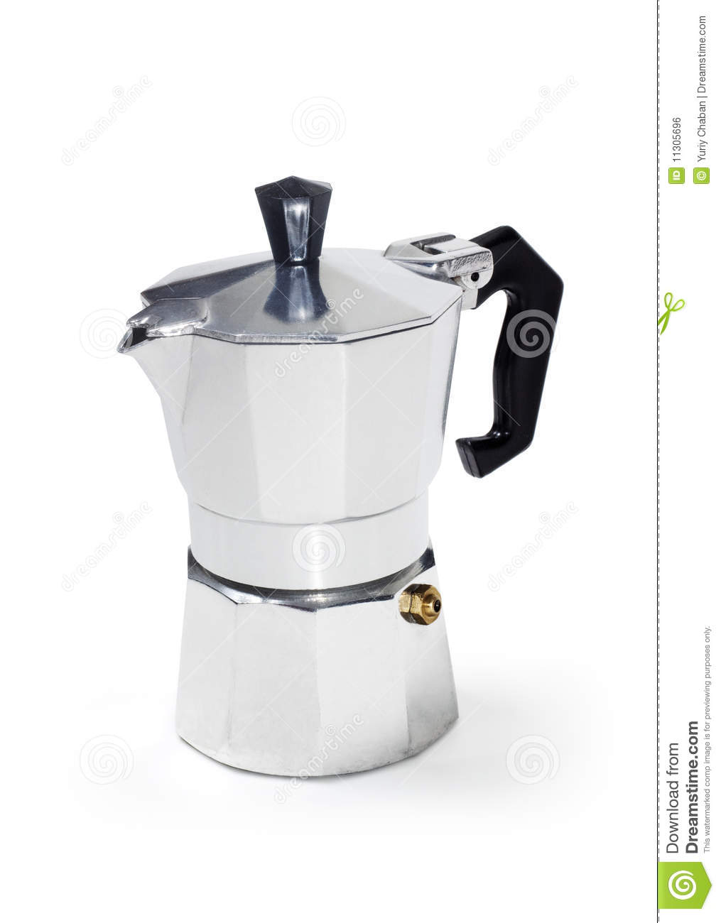 Map Italian Coffee Maker : Classic Italian Coffee Maker Royalty Free Stock Image - Image: 11305696