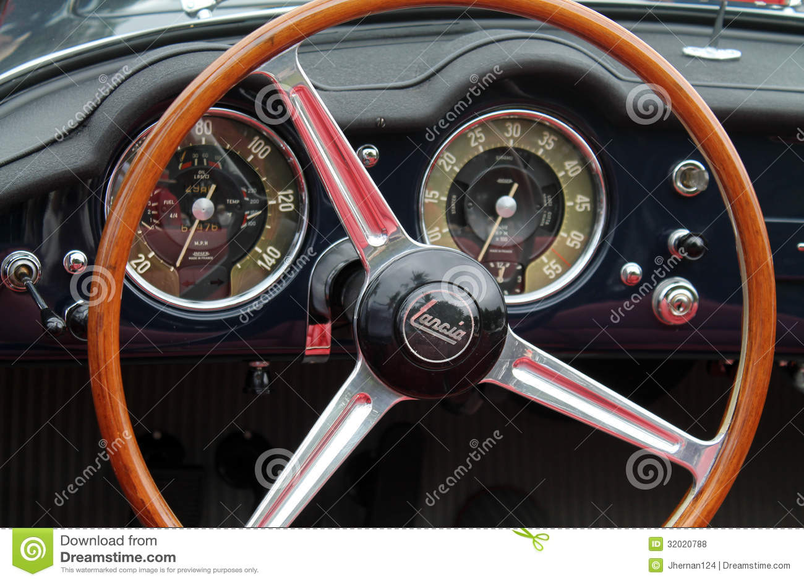 classic italian convertible sports car interior editorial stock photo image 32020788. Black Bedroom Furniture Sets. Home Design Ideas