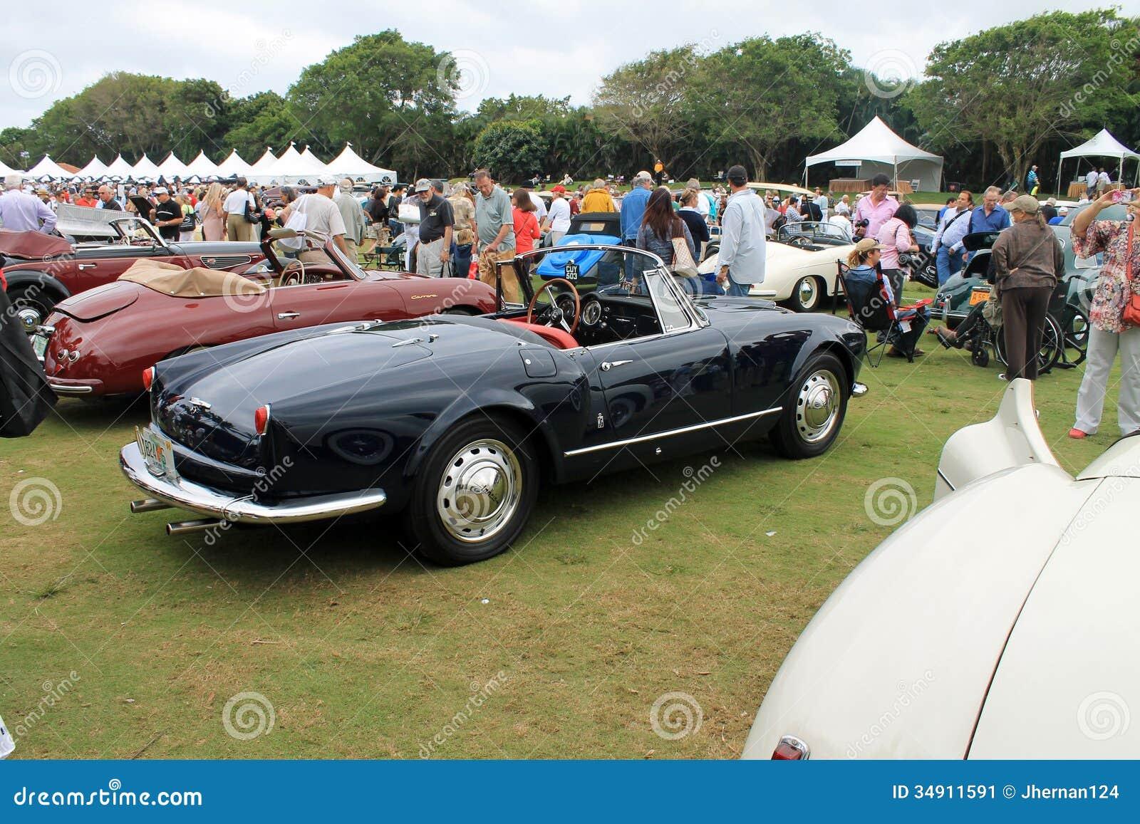 classic italian convertible sports car editorial photo image 34911591. Black Bedroom Furniture Sets. Home Design Ideas