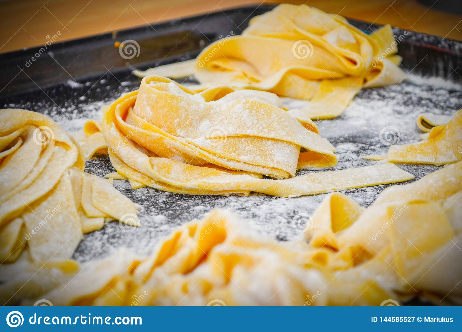Classic Italian Pappardelle Pasta