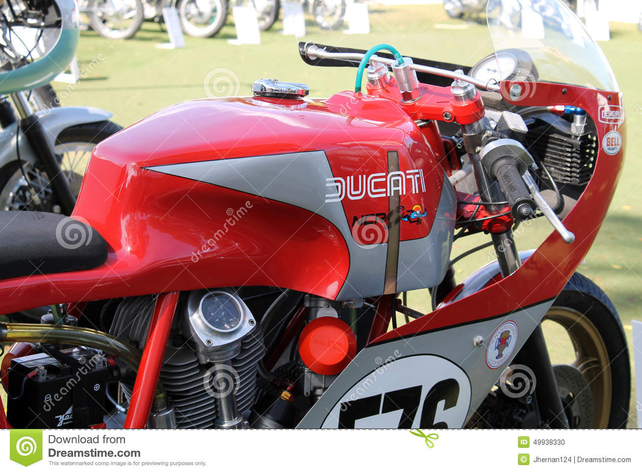 Gas Prices In Florida >> Classic Italian Racing Motorcycle Editorial Image - Image ...
