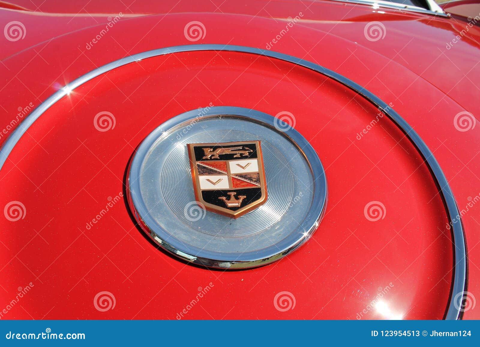 Classic luxury americana car detail