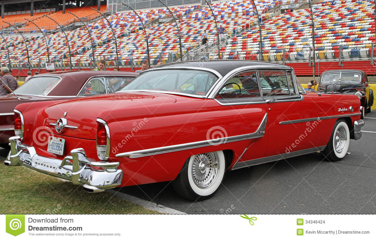 Classic mercury automobile editorial stock image image of for Speedway motors used cars
