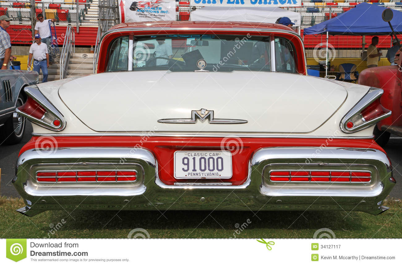 Classic Mercury Automobile Editorial Photography Image Of