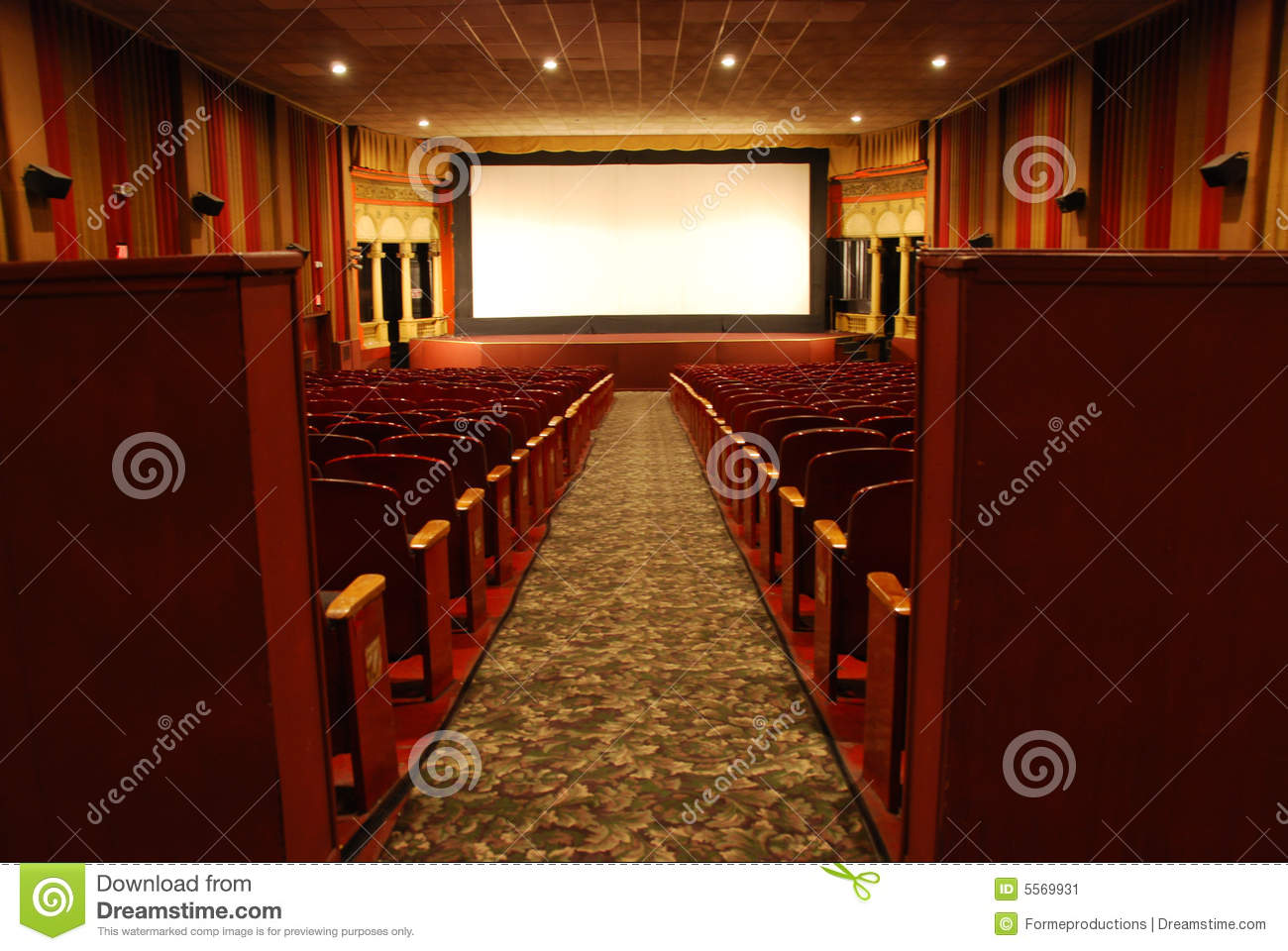 classic movie theater stock image image of camera classic 5569931