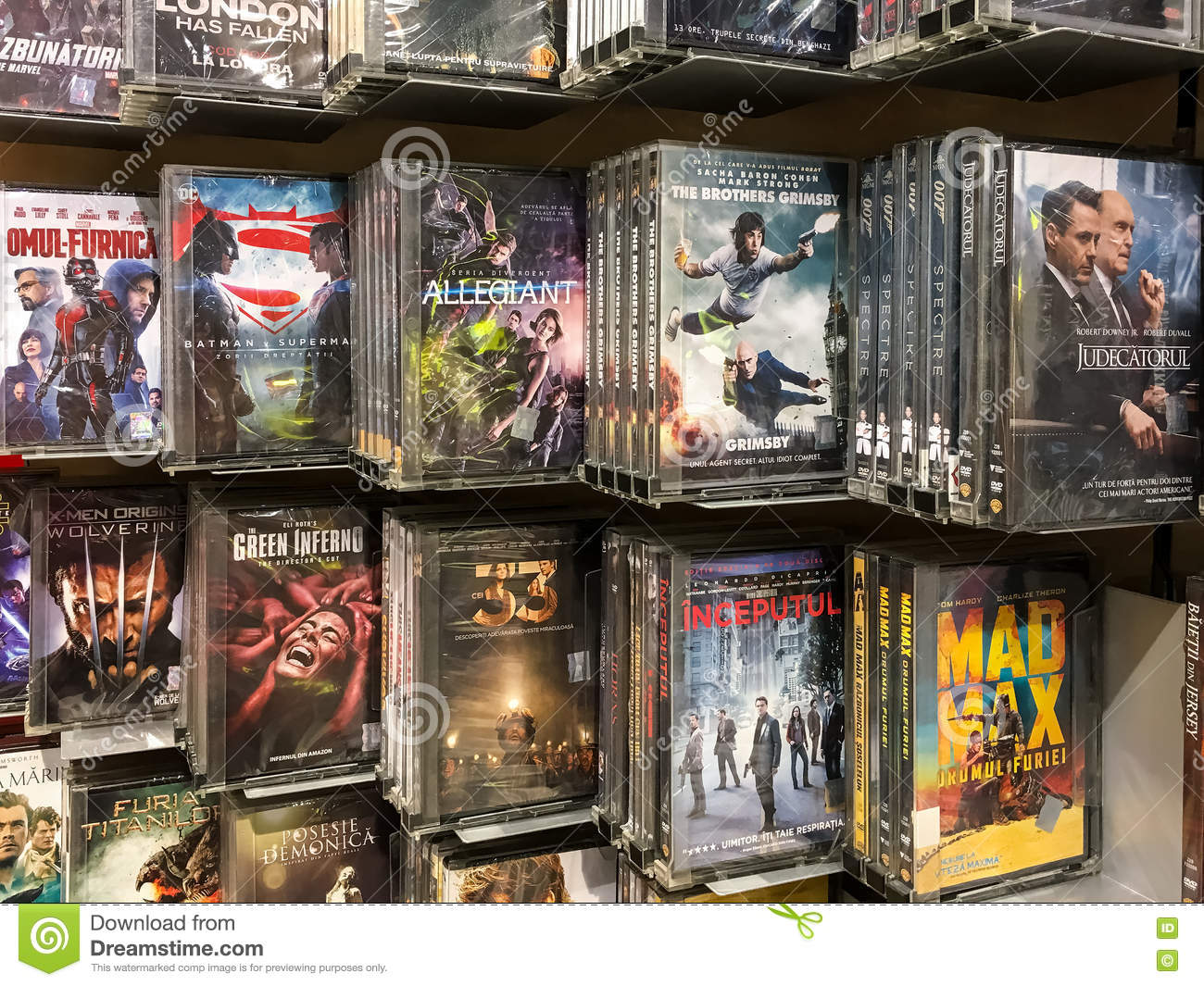 Classic And New Hollywood Production Movies On Dvd For Sale In