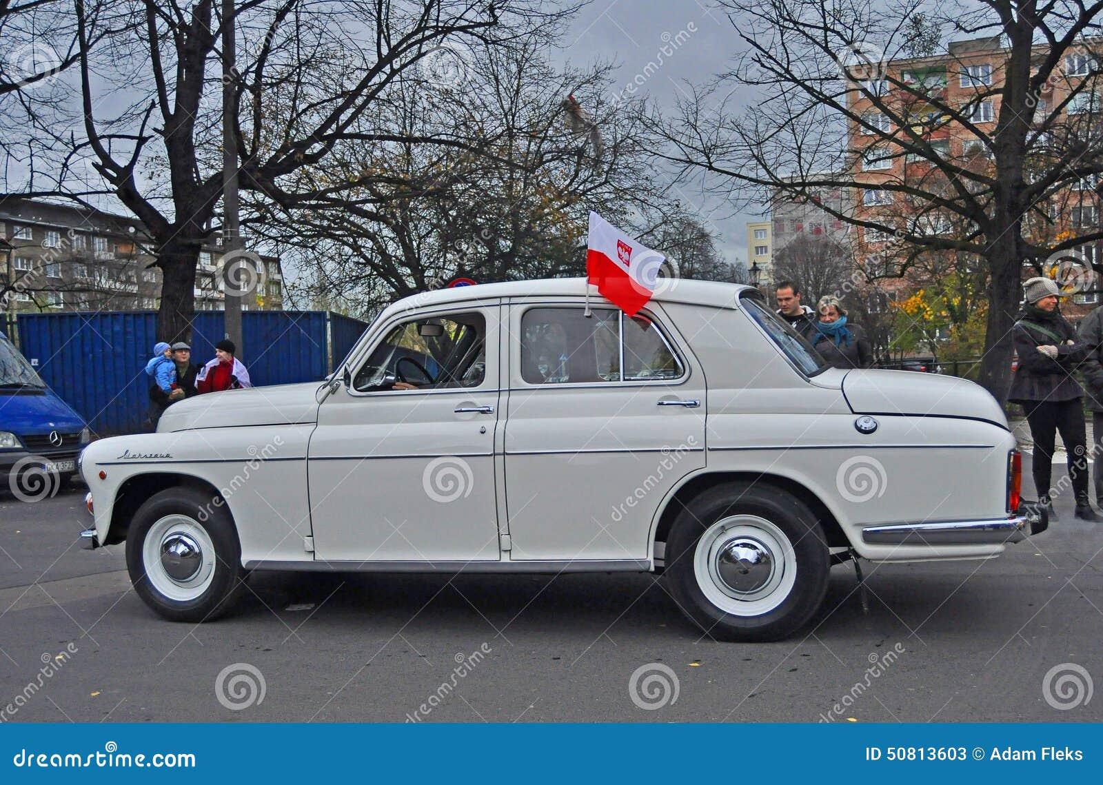 classic polish car editorial stock photo image of vehicle 50813603. Black Bedroom Furniture Sets. Home Design Ideas