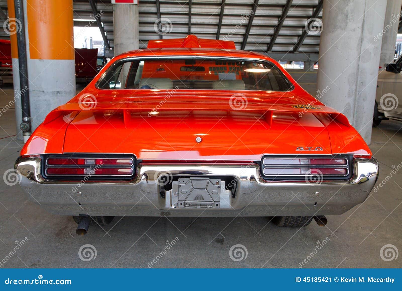 Pontiac Gto 2014 >> Classic 1969 Pontiac Gto Automobile Editorial Photo Image Of