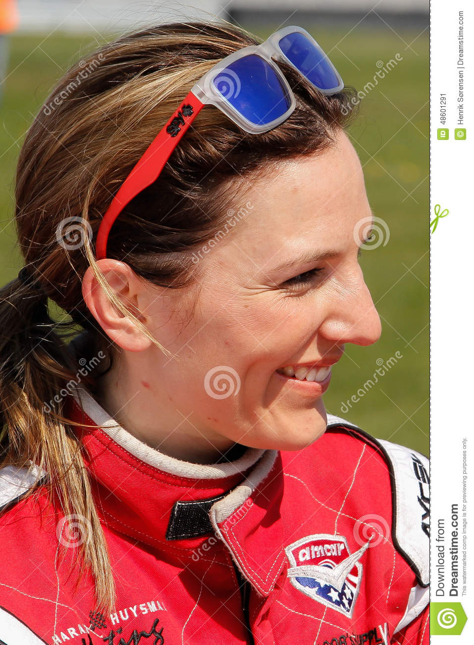 Classic Race Aarhus 2014 - Molly Pettit Editorial Photo - classic-race-aarhus-molly-pettit-denmark-may-norwegian-racing-driver-here-48601291