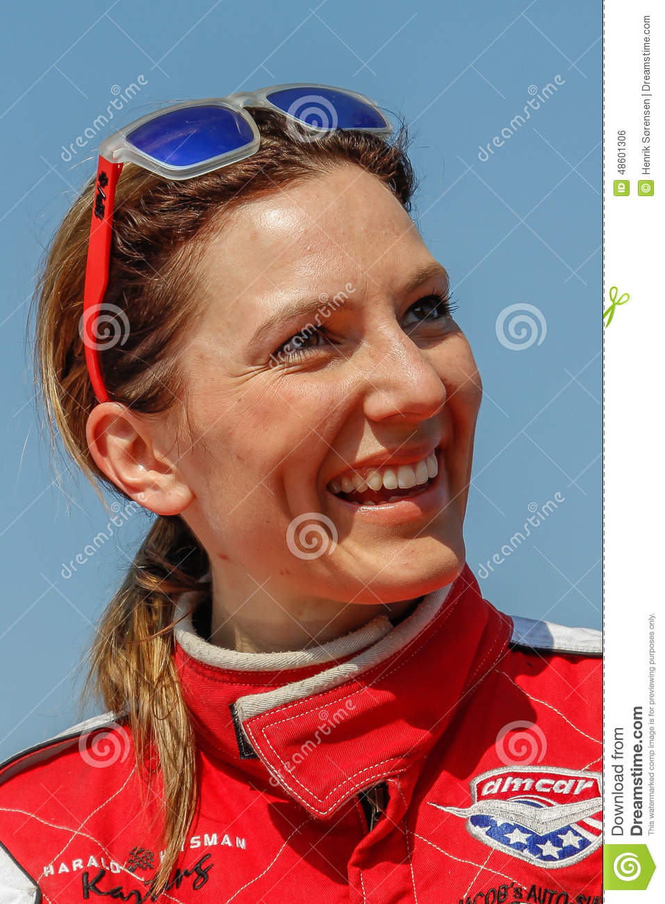 Classic Race Aarhus 2014 - Molly Pettit Editorial Photo - classic-race-aarhus-molly-pettit-denmark-may-norwegian-racing-driver-here-48601306