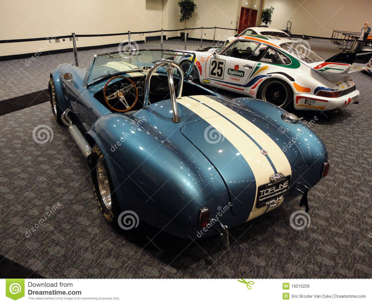Classic Racing Cars On Display At Car Show Editorial Photo Image Of Blue Drive 19210226