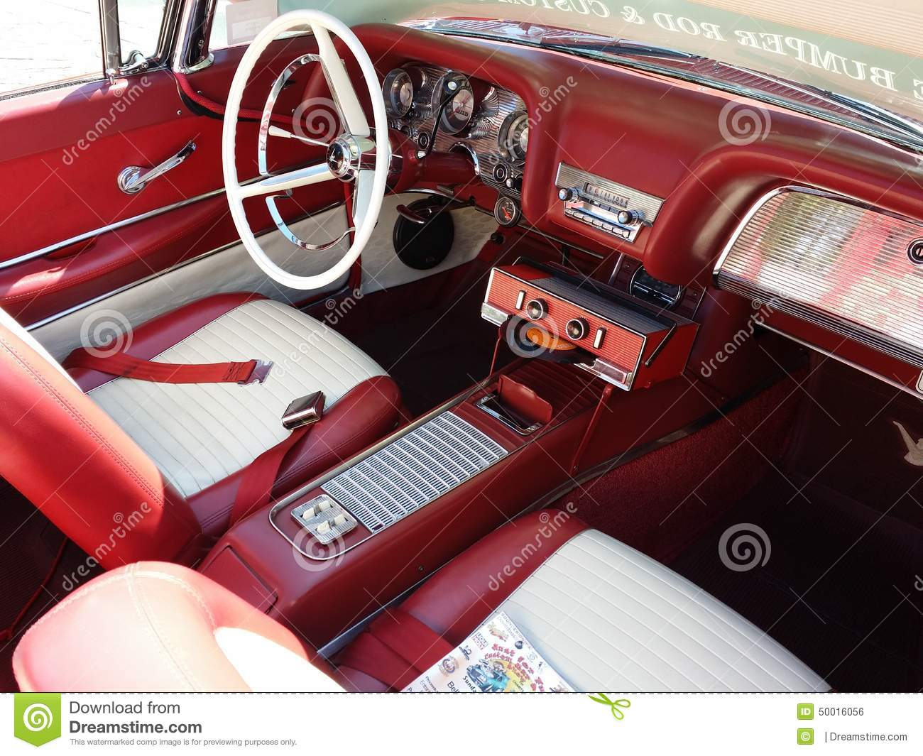 Great Classic Red Car