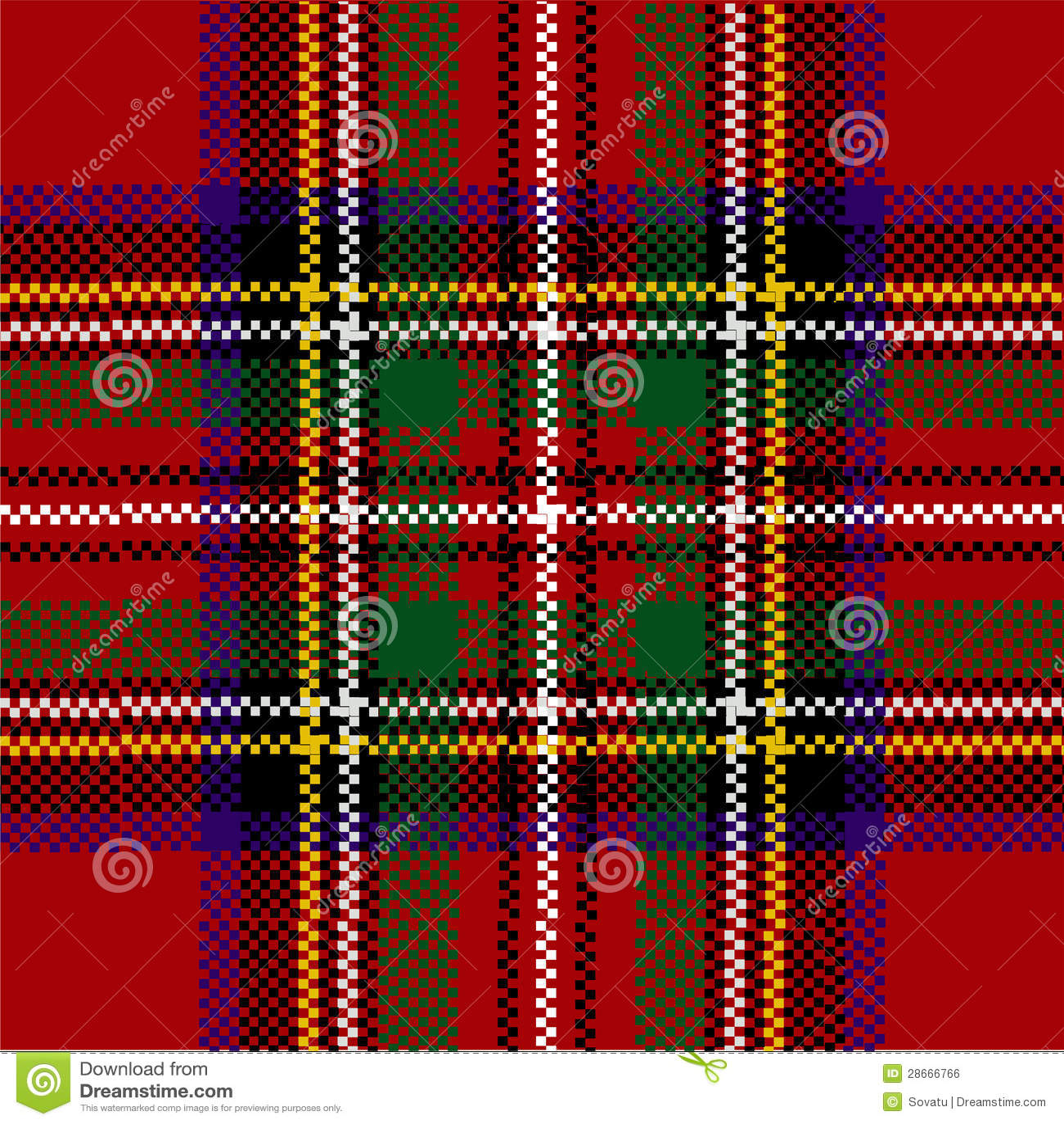 classic red tartan cla...