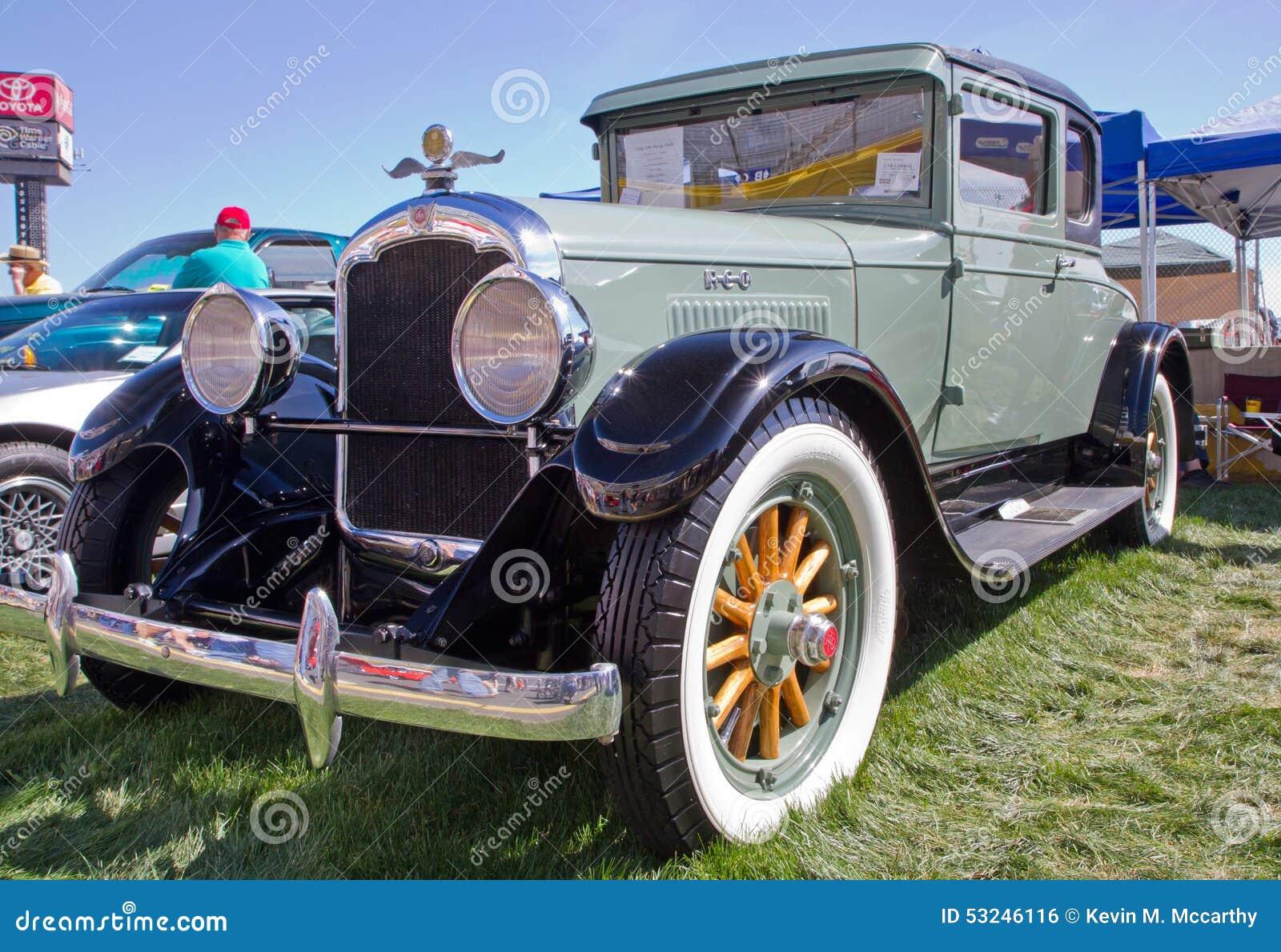 Classic 1928 Reo Automobile Editorial Photo Image 53246116