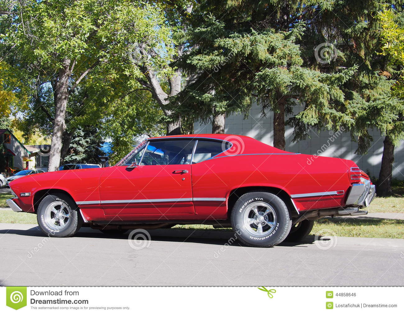 classic restored red chevrolet beaumont editorial photo image. Cars Review. Best American Auto & Cars Review