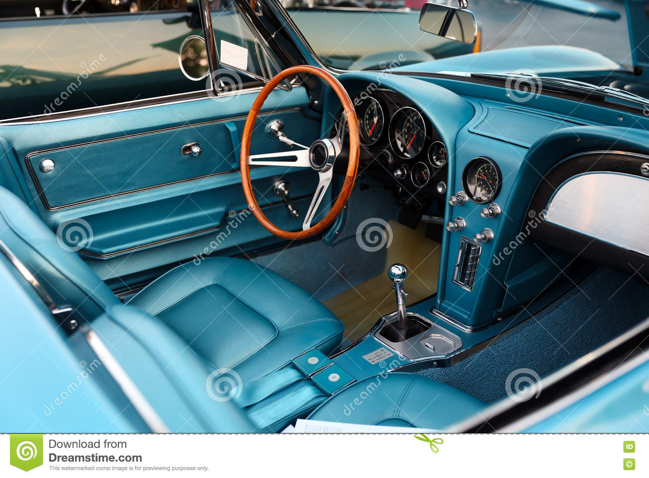 classic retro vintage blue car stock photo 88791360. Black Bedroom Furniture Sets. Home Design Ideas