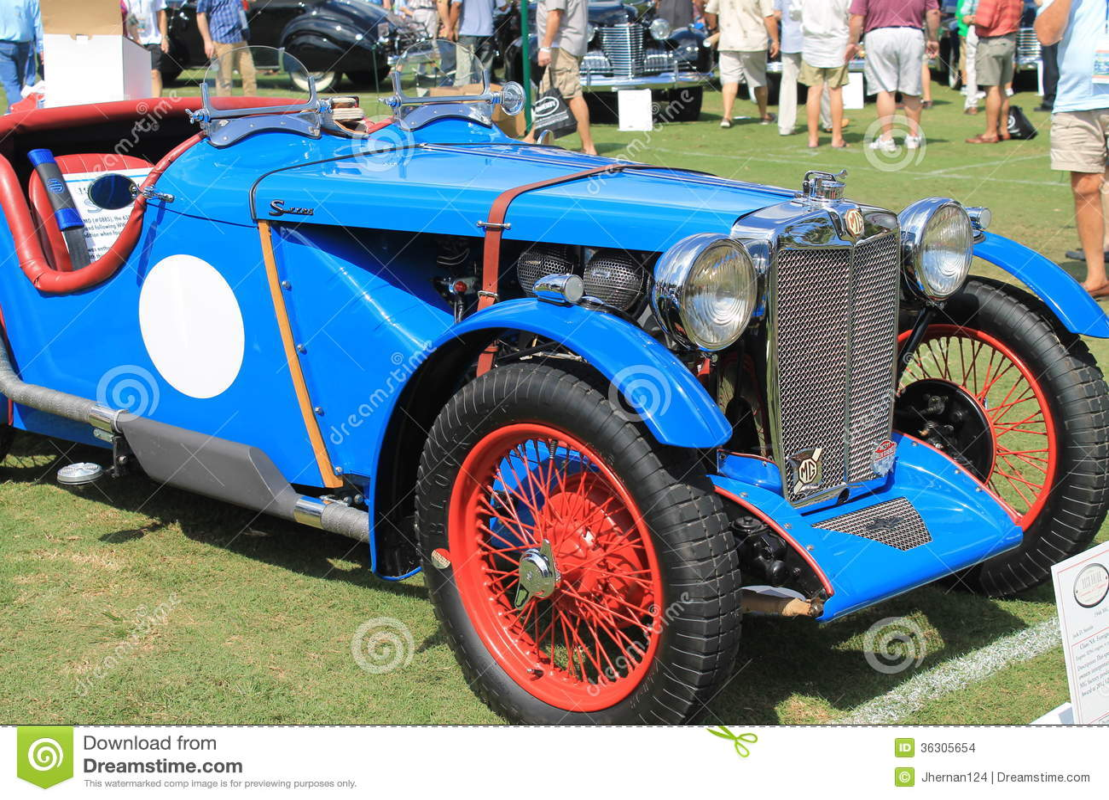 Classic Rare British Sports Cars Editorial Stock Image