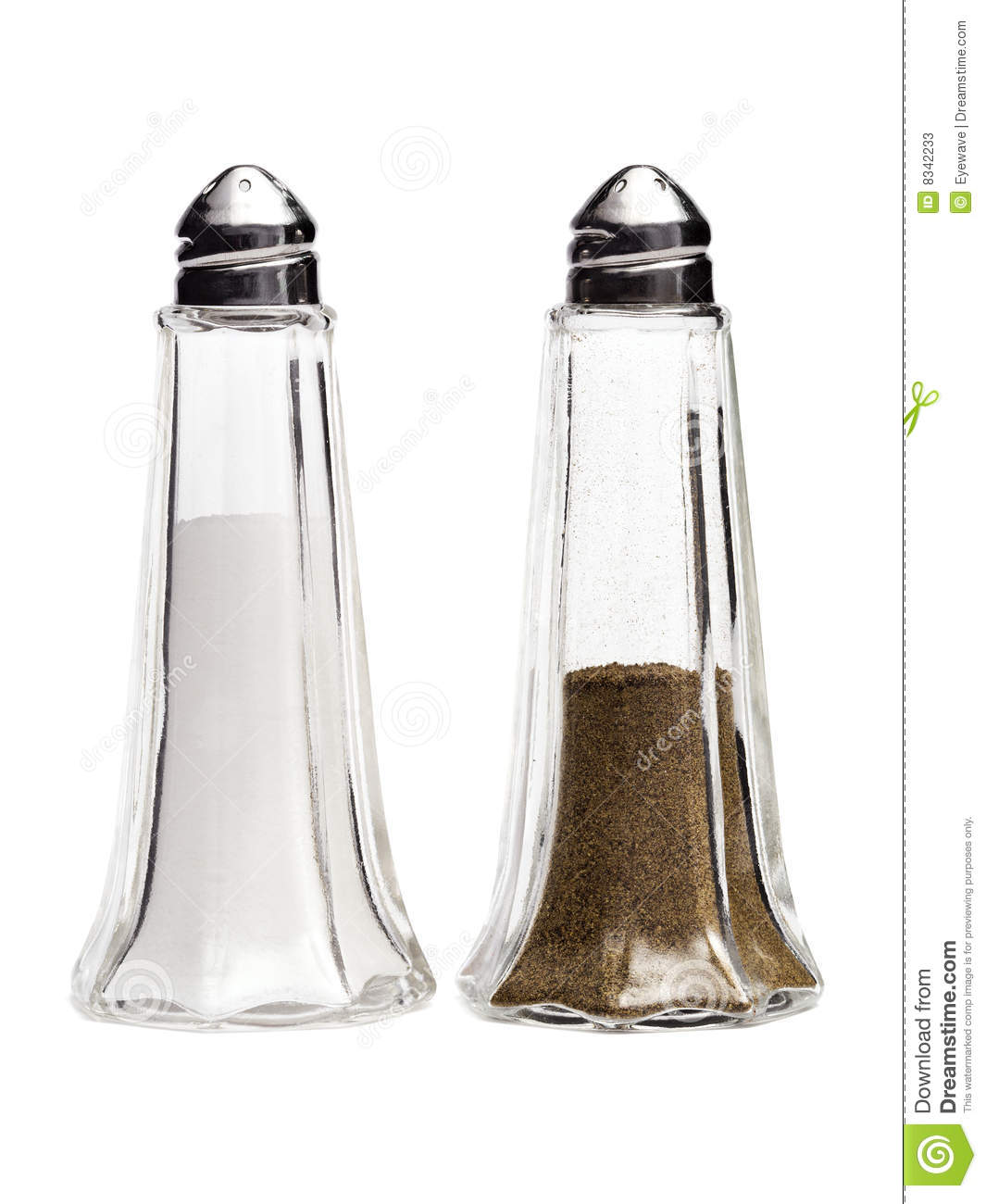 Classic Salt And Pepper Shakers Stock Photos Image 8342233