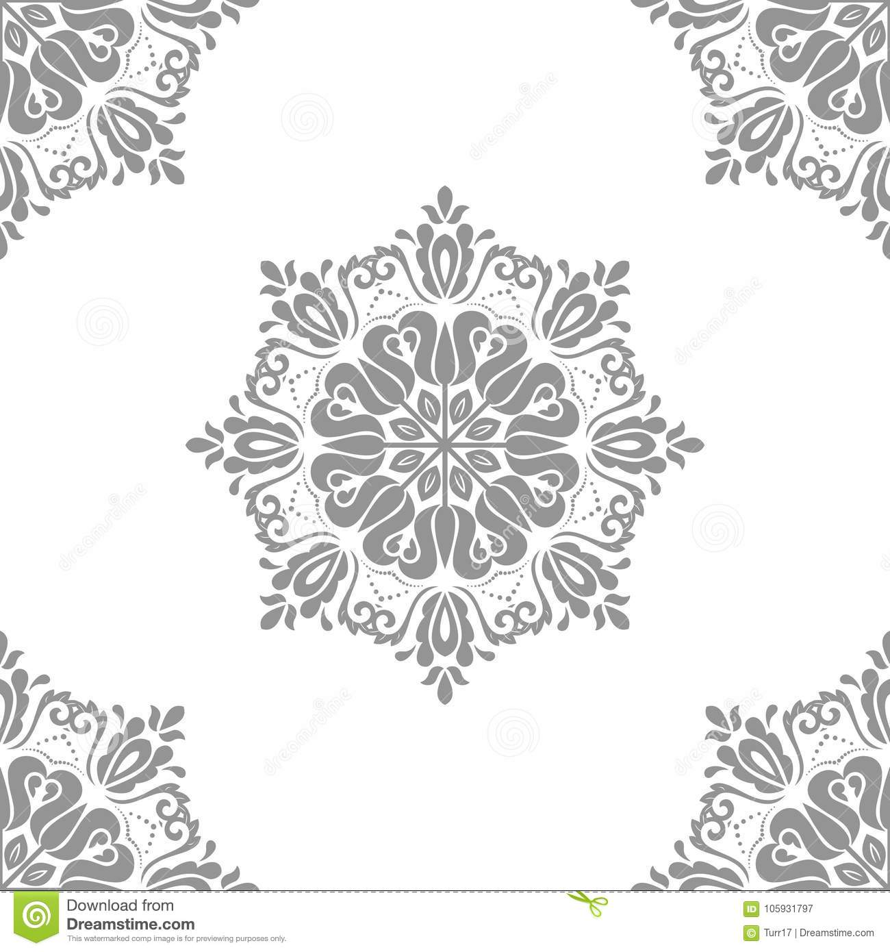 Classic Seamless Vector Pattern Stock Vector