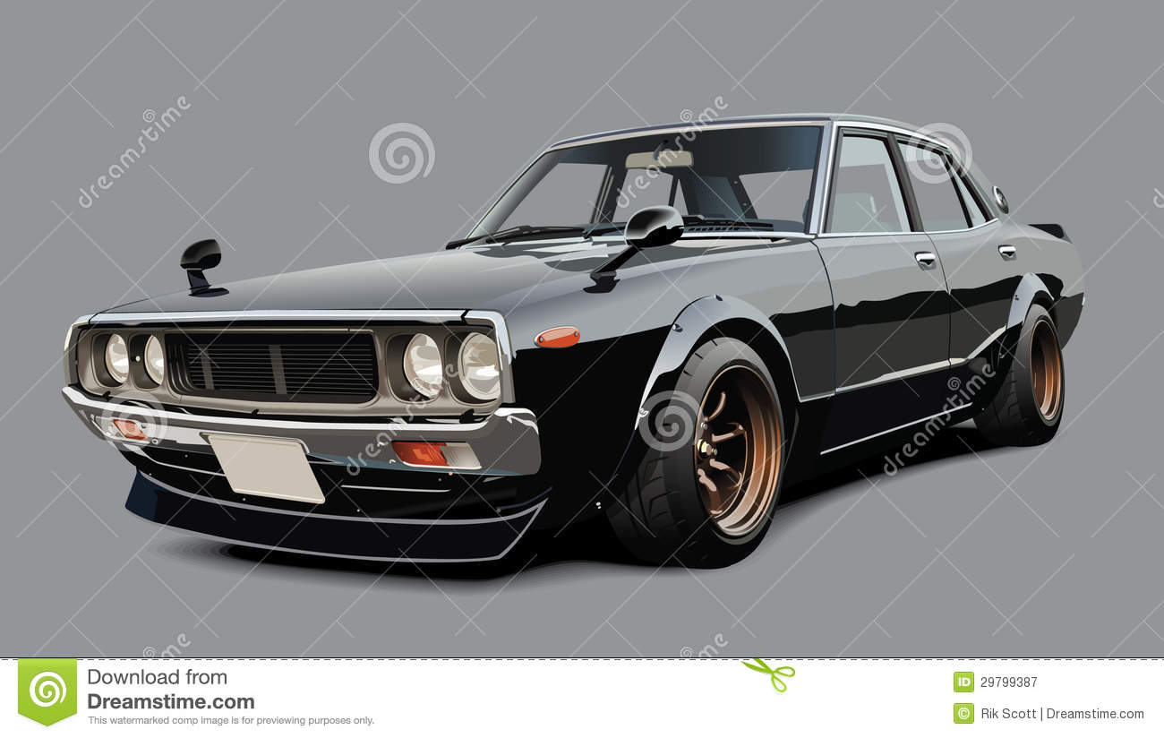 Classic Japanese Sports Car Royalty Free Stock Photography Image