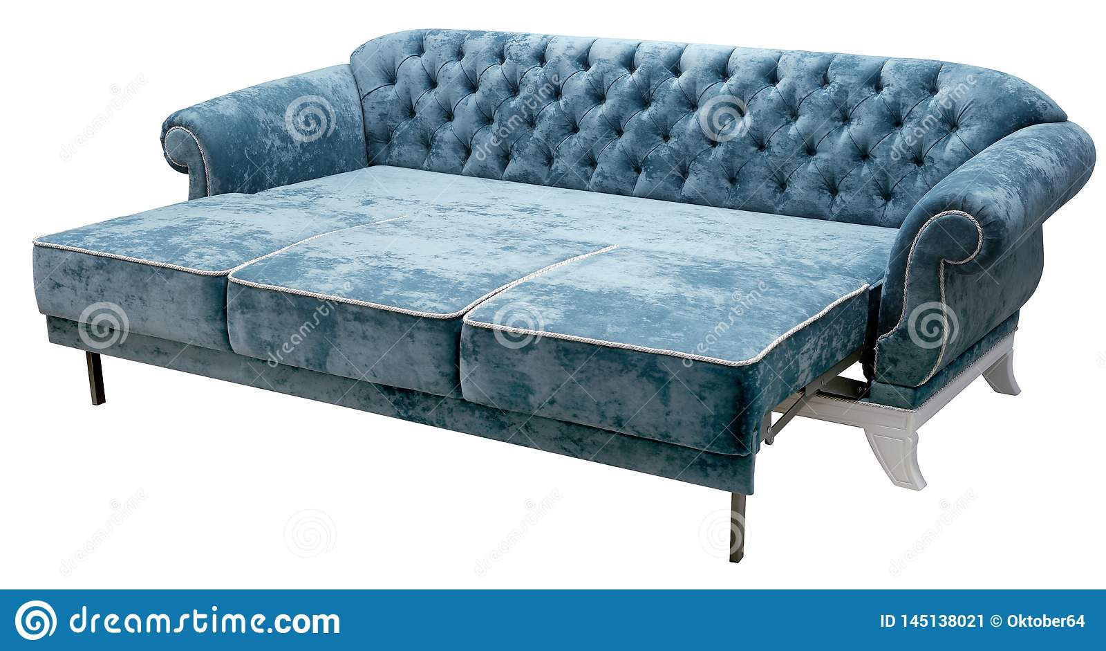 Admirable Classic Sofa Isolated On White Background The Back Of The Ocoug Best Dining Table And Chair Ideas Images Ocougorg