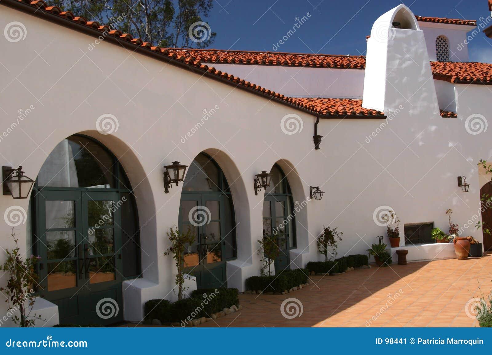 Classic Spanish Architecture Stock Image - Image: 98441