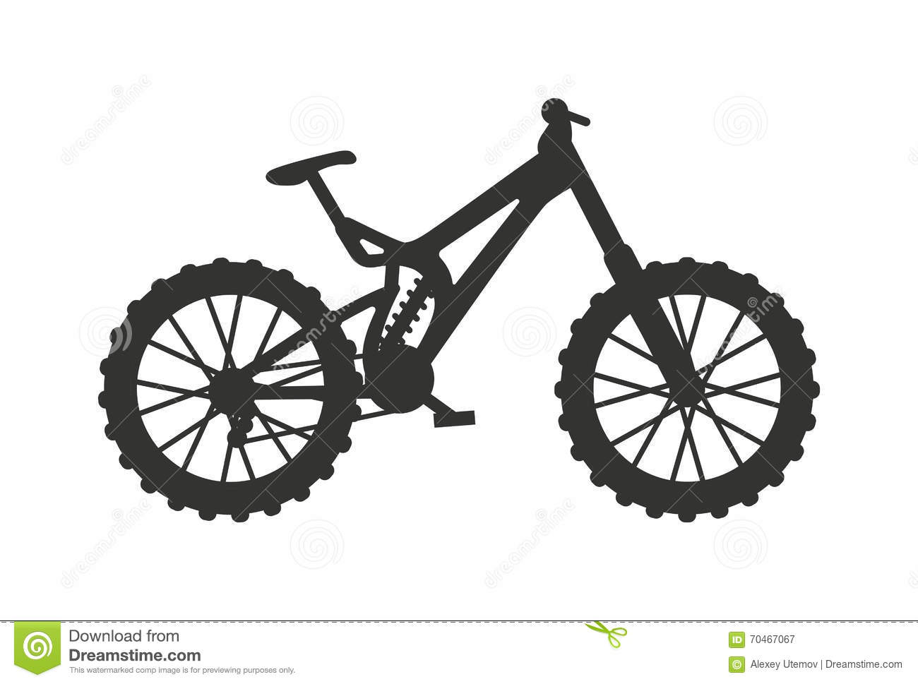 Bike Black Silhouette Mountain, Ride, Transportation Sport ...