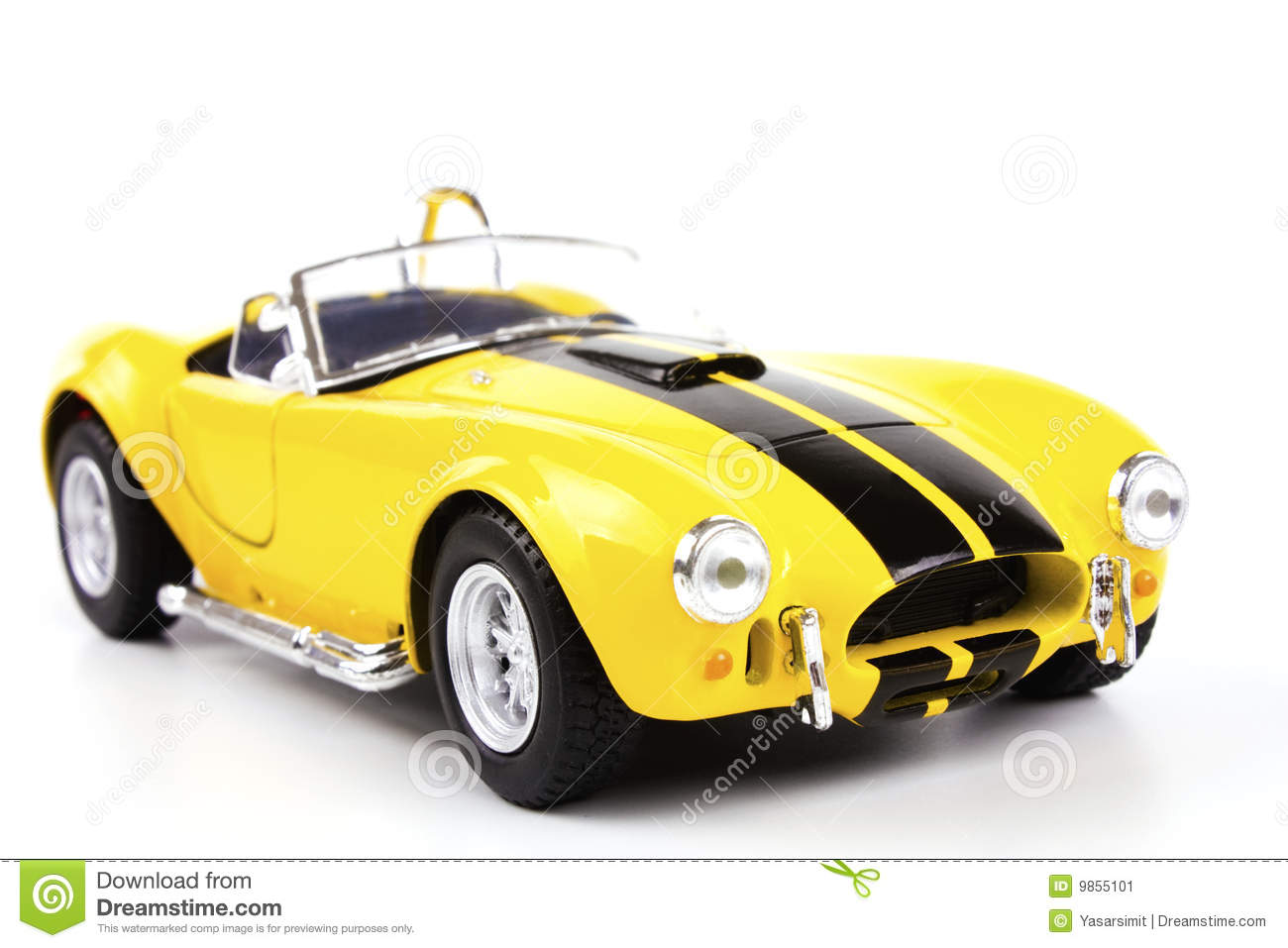 Classic Sports Car Stock Image Image 9855101